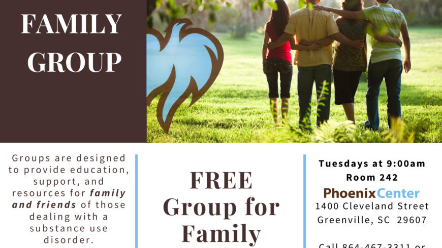 Free Family Group at The Phoenix Center