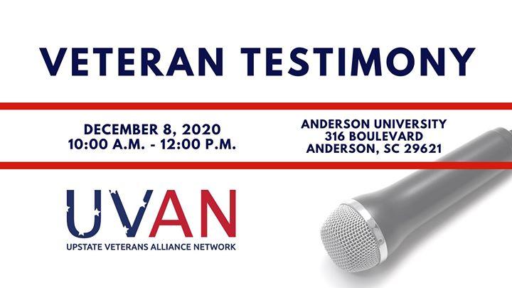 Veteran Testimony