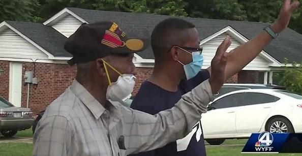 Birthday Parade Held for Upstate Veteran