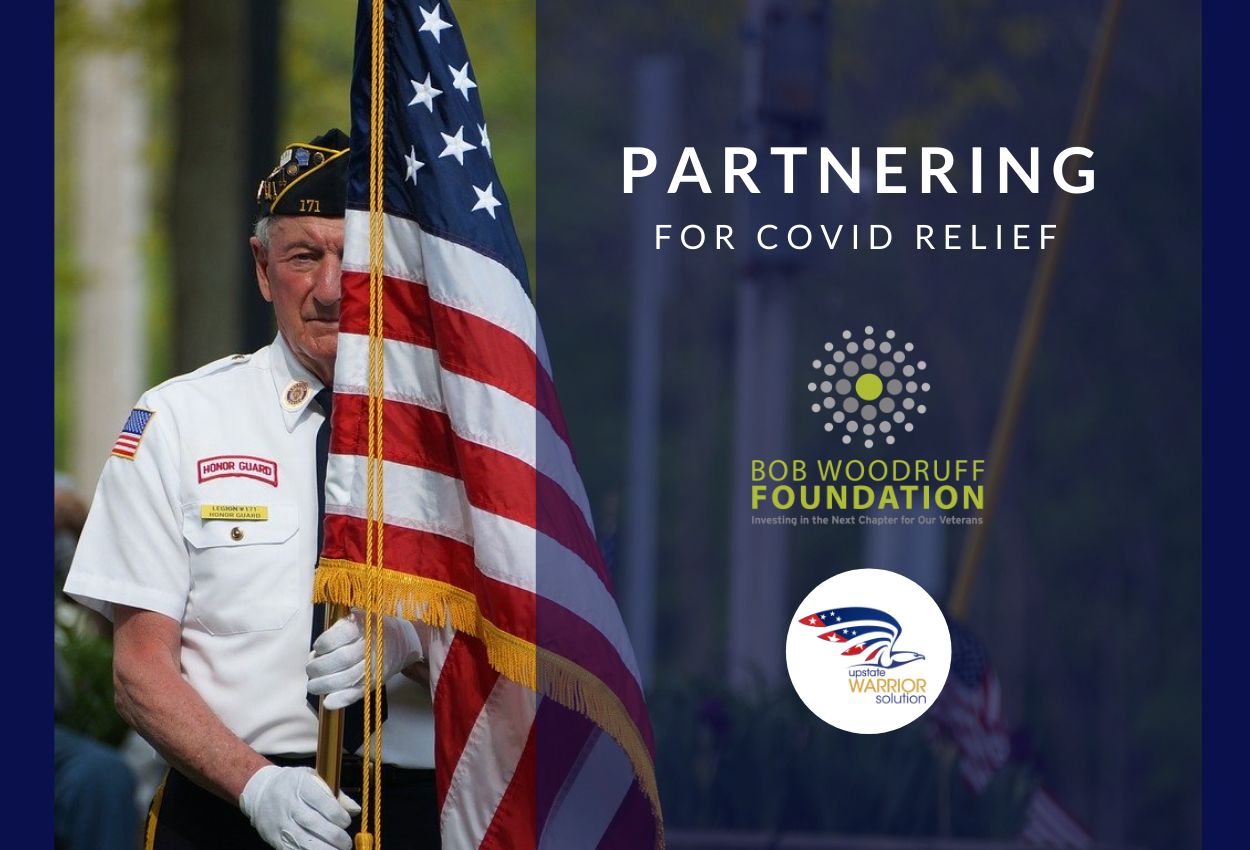 Community Collaboration Keeps an Army Veteran's Power on during the COVID-19 Pandemic